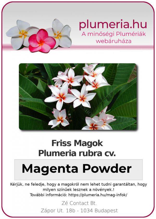 "Plumeria powder ""Magenta Powder"""
